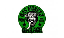Patch Gas Monkey Garage Dallas Texas Flicken Aufnäher Aufbügeln Bügelbild Gasmonkey1