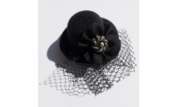 Minihut Fascinator Schleier Schwarz Altsilber Rockabilly Burlesque Pin Up Vintage Ball Abendmode Tracht  20180419_094513