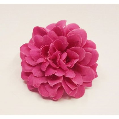 Groß Doppel Orange Rose Blumen Haarspange Rockabilly 1950er Jahre Vintage Groß